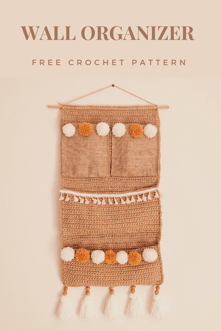 Crochet Wall Organizer – Free pattern & Photo Tutorial