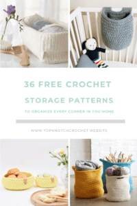 Crochet Patterns To Organize Every Corner In Your Home