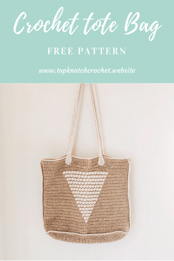 Straw Crochet Tote Bag – Free Crochet Pattern